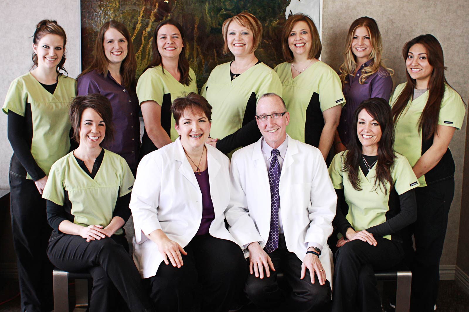 The staff at Fox Grape Dentistry